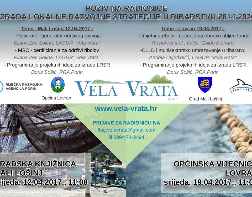Radionice LAGUR 12. i 19.04.2017.