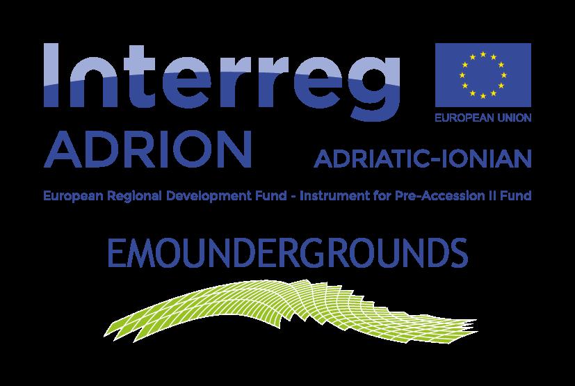 Logo Adrion Enviroment EMOUNDERGROUNDS